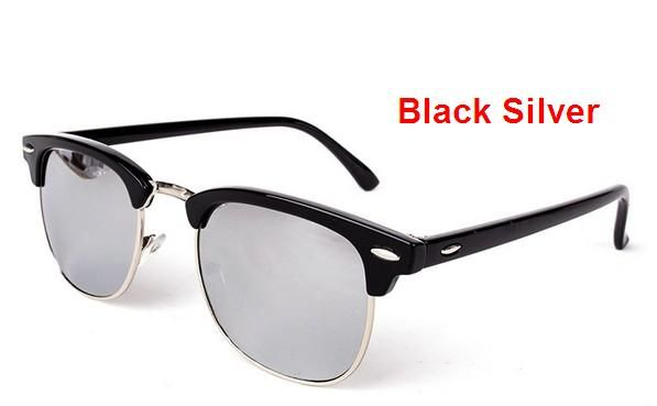J47 2016 Brand New Hot Thời Trang của Nam Giới UV400 coating Kính Mát nam Lái Xe Mirrors Eyewear Sun Glasses Nam Giới và Phụ Nữ