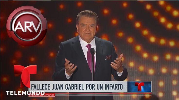 Don Francisco recuerda al gran Juan Gabriel | Al Rojo Vivo | Telemundo