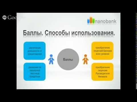 Презентация проекта Nanobank Нанобанк