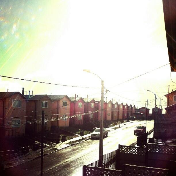 Una mañana bien lluviosa acá en el sure asi es La magia del sur.
