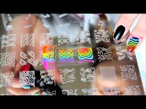 Supertruco para estampar en uñas/ Stamping nails cute trick - YouTube