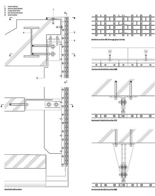 中村拓志 Hiroshi Nakamura U0026 NAP建築設計事務所   Optical Glass House   Drawings