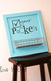 laundry room: Cute Ideas, Diy Tutorials, My Husband, Front Doors, Rooms Ideas, Pockets, Laundry Rooms Signs, Laundry Baskets, Great Ideas