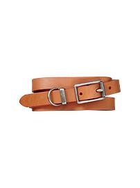 Belt Brown/White Narrow/Wide/Rubber