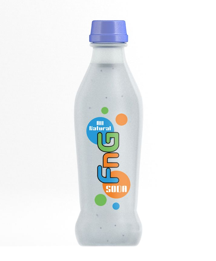 Soda label Design