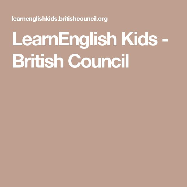 LearnEnglish Kids - British Council