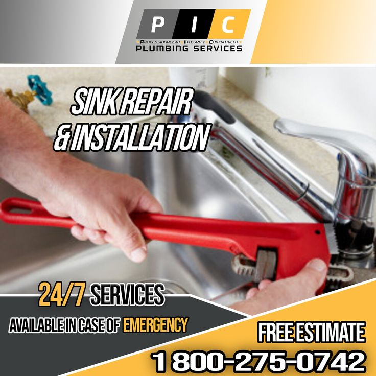 Sink Repair and Installation in San Diego California in