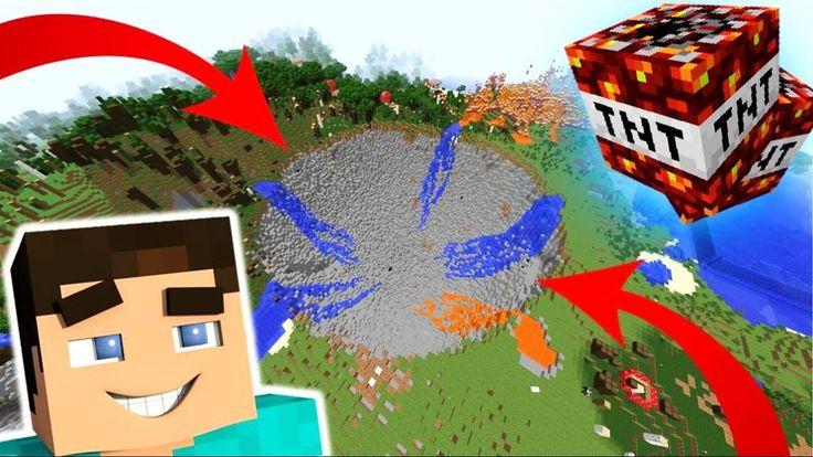 A Világ LEGDURVÁBB TNT-i!!? Minecraft Kísérletek #9