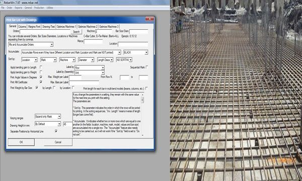 RebarWin Is A Powerful Structural Design Software That Can Be Specifically Used For Rebar Detailing Estimating