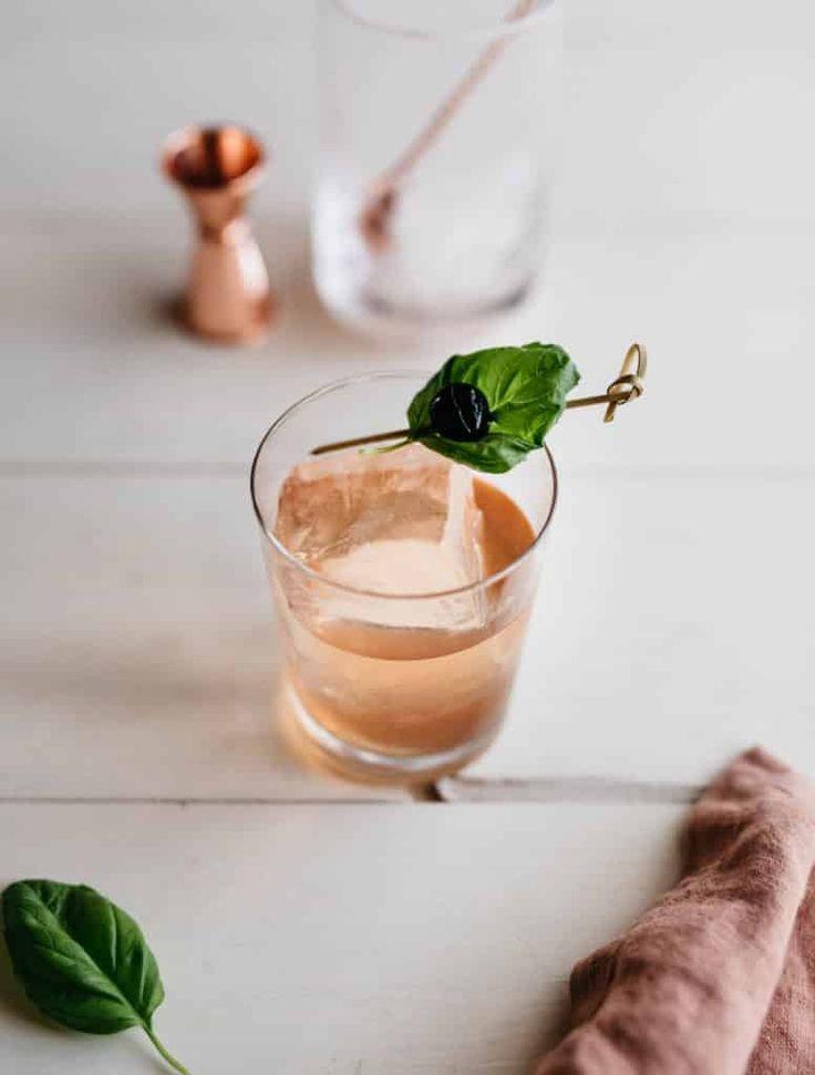 Adult Apple Juice | Libation Magazine 1 oz tequila blanco 1 oz Laird's Apple Brandy 3/4 oz simple syrup 1/4 oz lemon juice 1/4 oz Campari 1/4 oz Domaine de Canton ginger liqueur