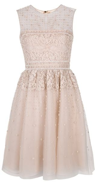 VALENTINO Sheer Pink Dress