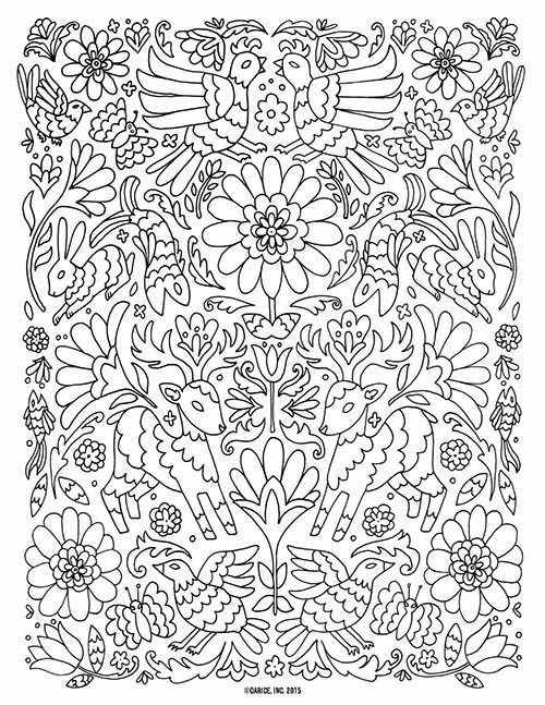 8 Free Printable Mindful Colouring Pages Col Flower