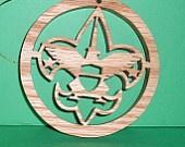 Arrow of Light award plaque. $14.00, via Etsy.