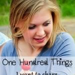 One Hundred Things