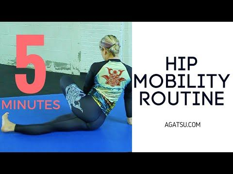 Hip Mobility Routine - YouTube
