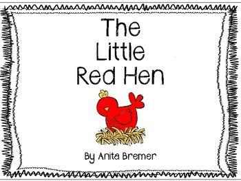 The Little Red Hen {freebie}