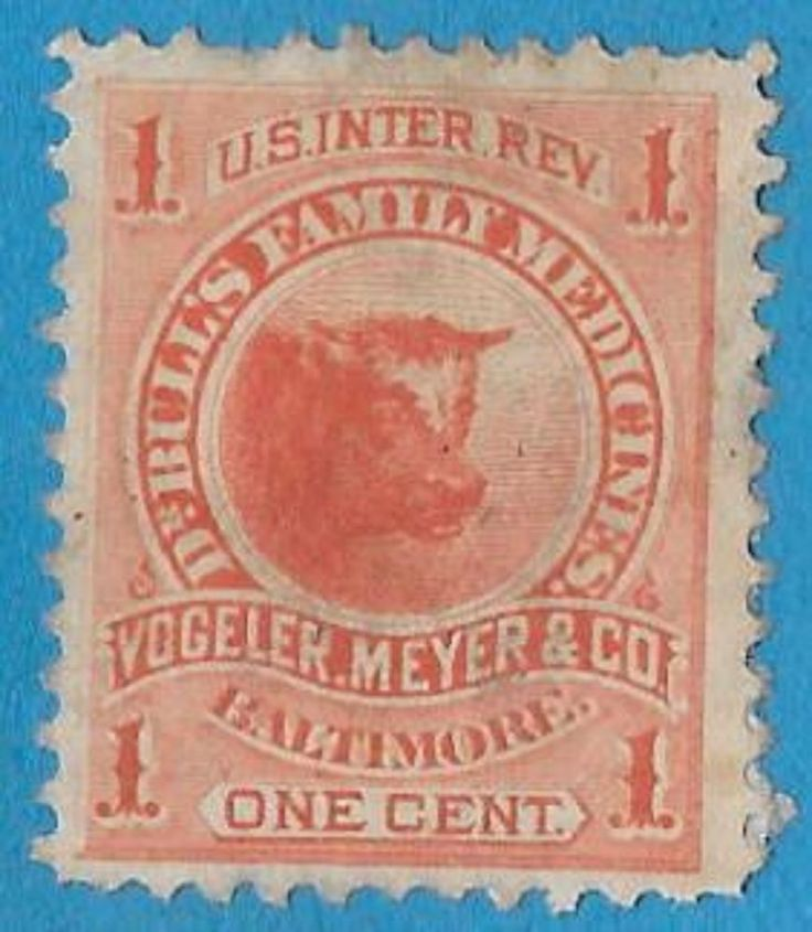 + 1877 USA America Dr.Bull's Medicines Vogeler Meyer & co.Baltimore Bob #RS252c
