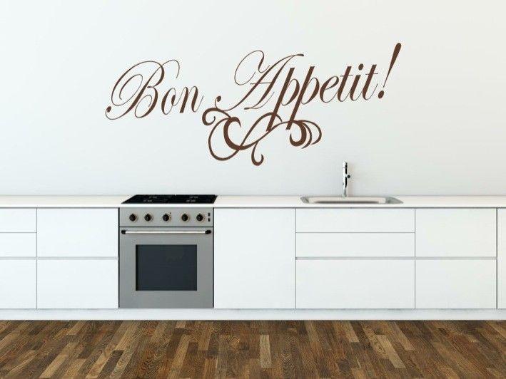Bon Appetit decals | stuckon.com.au