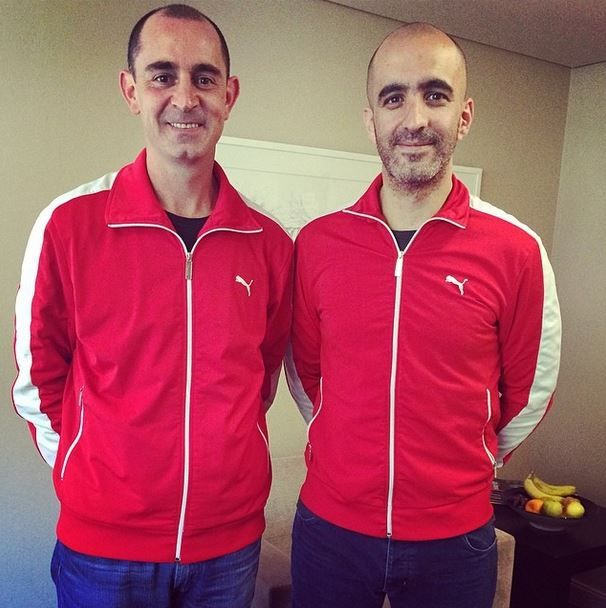 Who wore it best? Julian Ribeiro, MD of our JHB office or Creative Director, @Carl Willoughby? Julian tells us that had he not gone into advertising, he would've pursued his professional soccer career while Carl enjoys making Dim Sum at home and taking photos (proof on his Instagram feed).