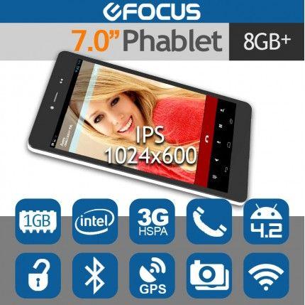 "7.0"" CHUWI V17HD 3G Tablet Phone Phablet Android 4.2 Intel GPS 1G/8G"