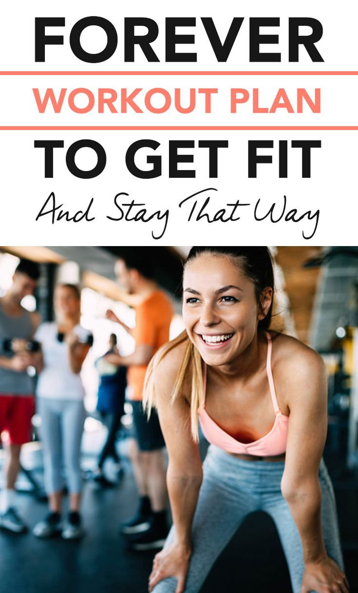 How to Stay Fit and Healthy With the Forever Workout Plan #healthy #weightloss