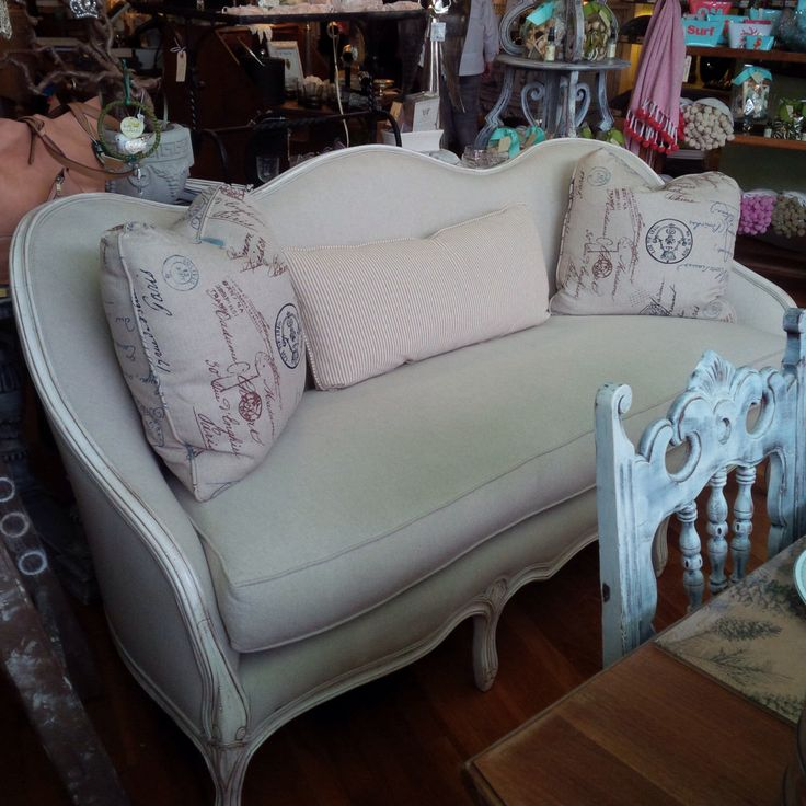 Juliet French Country Sofa by TessHome on Etsy https://www.etsy.com/listing/231083675/juliet-french-country-sofa