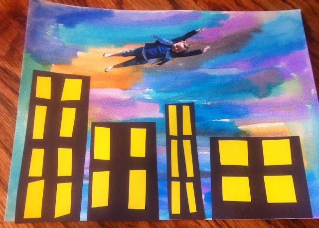 Beginning or End of Year Art Project - Soaring Into the Next Grade.  Follow up writing activity too!