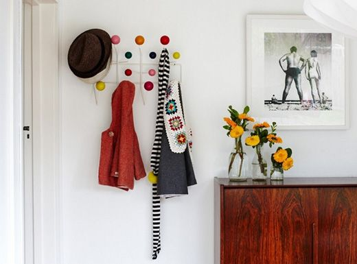 Bright and colourful with mid-century accents    //   Melbourne home