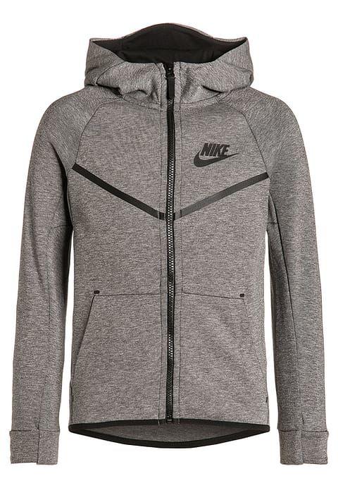 Nike Performance TECH FLEECE WINDRUNNER - Sweat zippé - grau   schwarz -  ZALANDO.FR 018ab08ae8