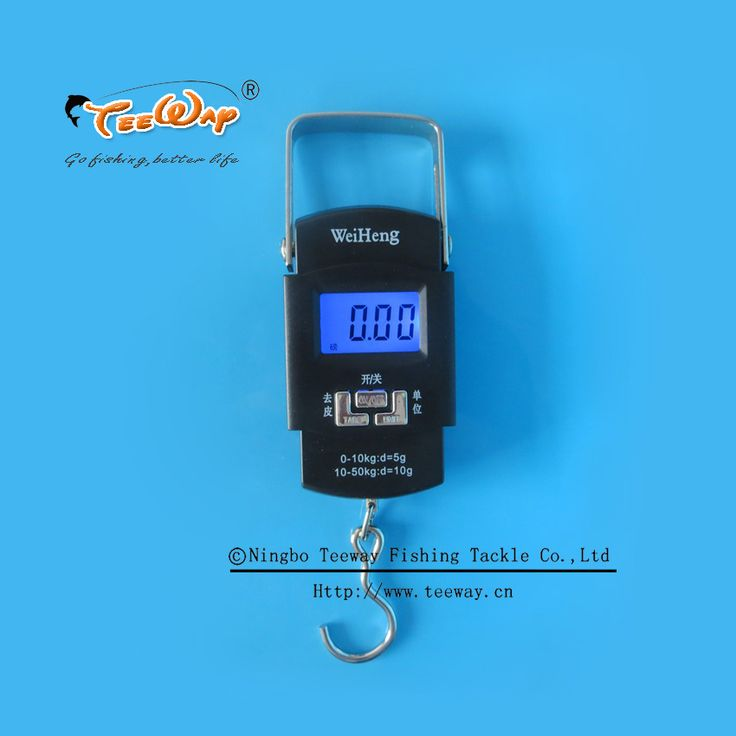 Portable spring scale LCD portable scales weighing 50 kg mini largest fishing scale division value 0.005 kg fishing tackle boxes