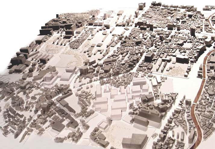 1/500の敷地模型