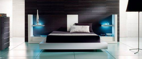 Cama respaldar juego de dormitorio le carpentier d11055 for Recamaras matrimoniales df