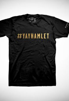 #YayHamlet From the musical Hamilton