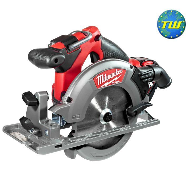 Milwaukee m18 ccs55402c m18 fuel 18v circular saw with 2x