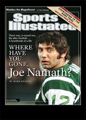 joe namath cover sports illustrated august 2004