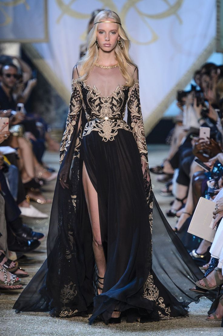 See Every Fantastical Look From Elie Saab's Fairytale Couture Show