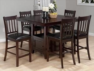 Picture of 7 Piece Casual Counter Height Set
