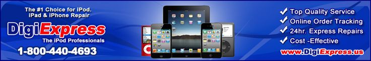 DigiExpress $25 for a screen replacement on Ipod, Iphone, and Ipad