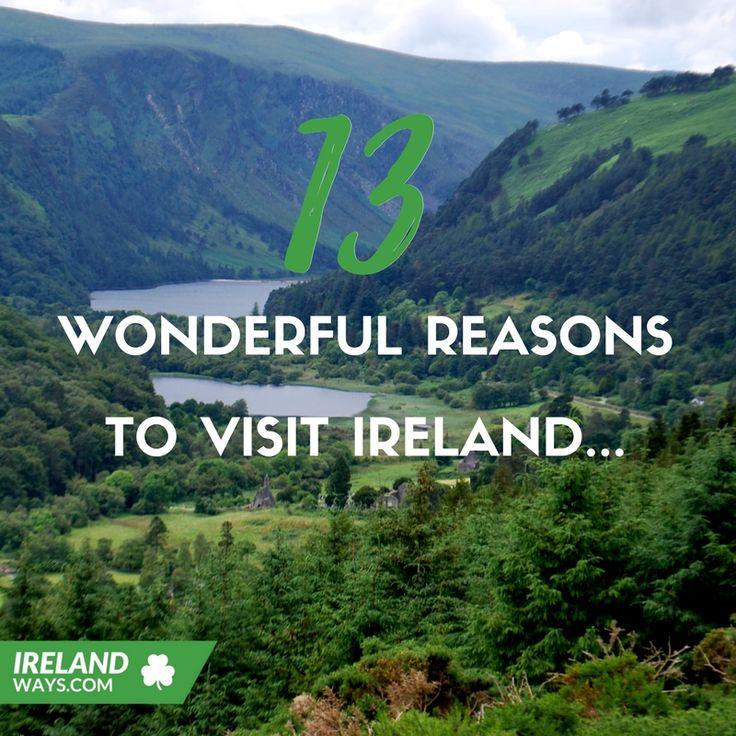 13 reasons to visit #Ireland #travel #bucketlist #adventure #wicklow #theburren