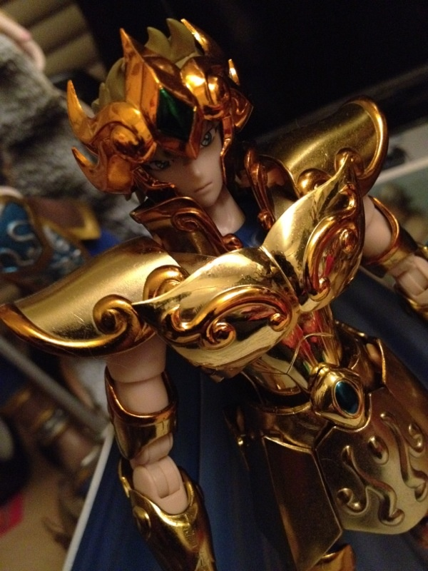 Saint seiya Leo gold cloth