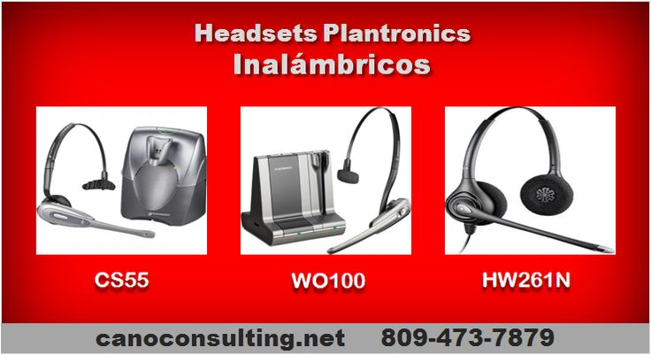 Headsets Plantronics