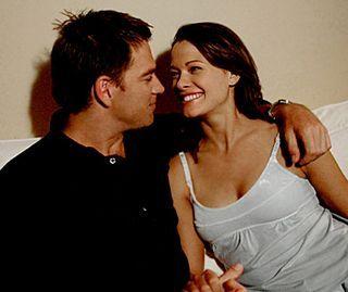 NCIS Season 4: Anthony DiNozzo (Michael Weatherly) with Jeanne Benoit (Scottie Thompson)