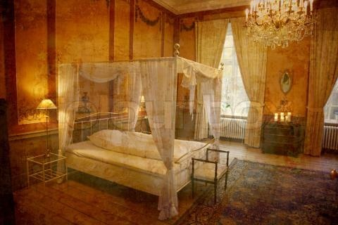 Image Of Medieval Bedroom