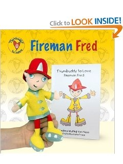 Thumbuddy to Love: Fireman Fred: Andrea Wulfing Van Ness, Karla Trapp: 9780615273792: Amazon.com: Books