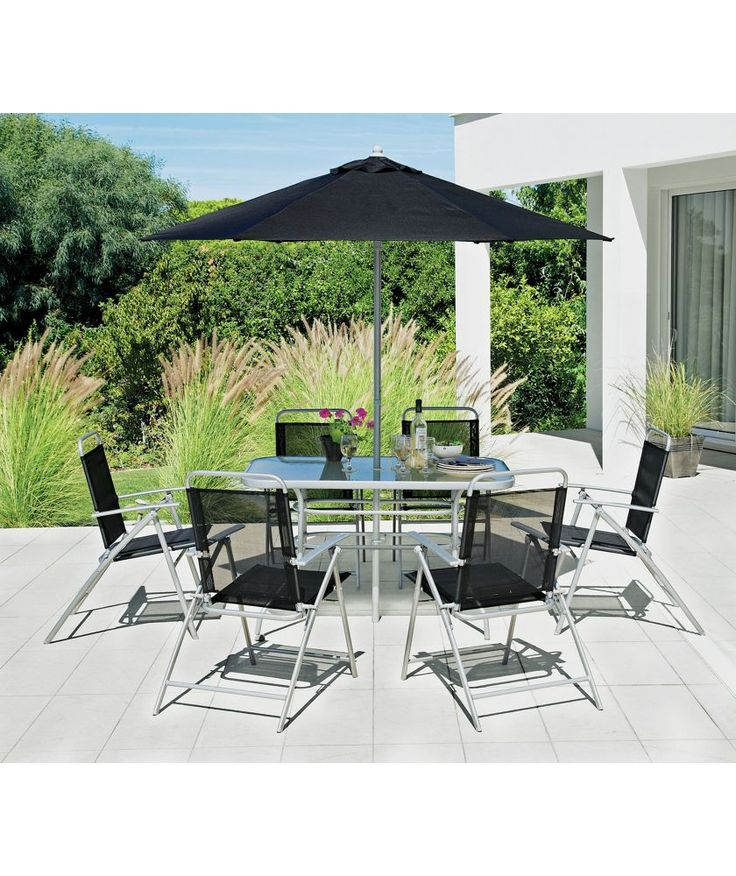 Argos Garden Table And Chairs Sale: Buy Pacific 6 Seater Patio Furniture Set At Argos.co.uk