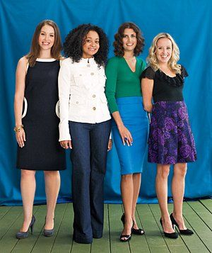 The Right Clothes for Your Body Type talks about how to find the most flattering clothes for your shape.
