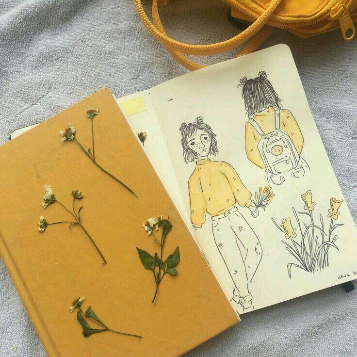 هيدر اند افتار On Twitter Art Hoe Aesthetic Aesthetic Art Yellow Aesthetic