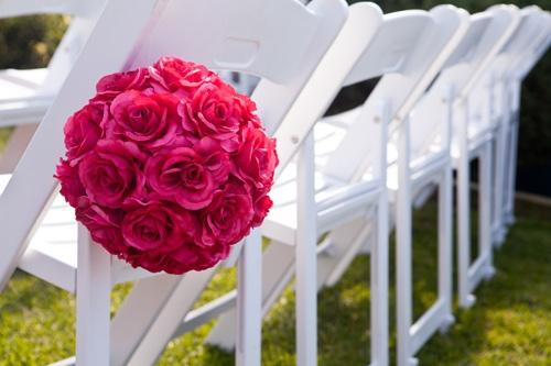 #ceremonychair #roseball