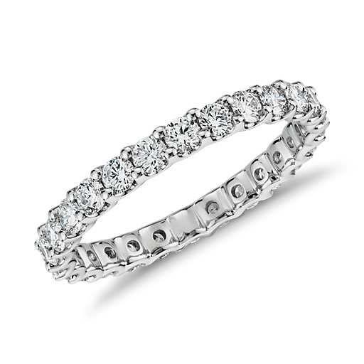 U-Prong Eternity Diamond Ring in Platinum (1 ct. tw.) For my 10 yr anniversary :) wishful thinking!