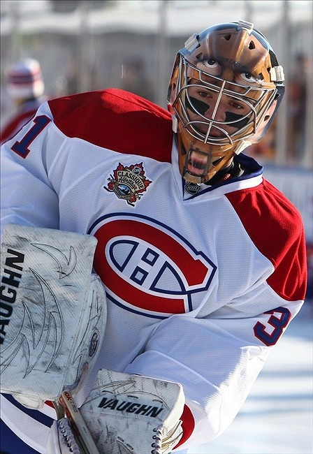 Carey Price. Hope you rest well (even though you're the enemy at the moment)
